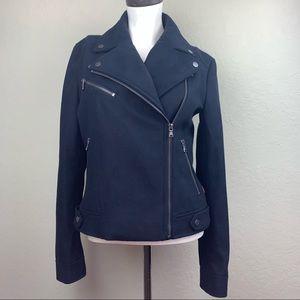 Levi's Wool Blend Asymmetrical Moto Jacket, Sz XS